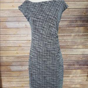LOFT - Fitted Midi Dress